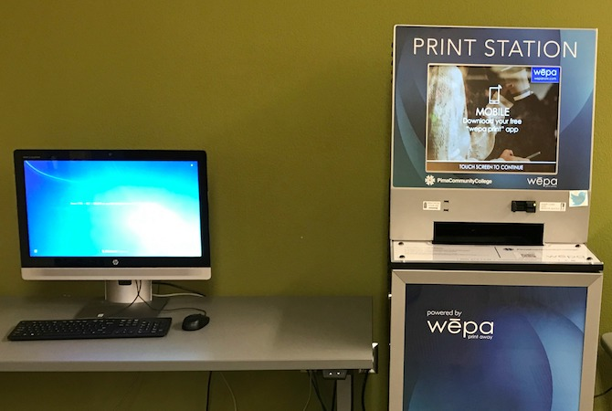Increasing the Accessibility of Cloud Printing at Pima Community College